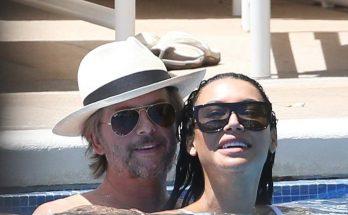 Naya Rivera and David Spade: HOT NEW COUPLE ALERT, MAKING OUT IN HAWAII!