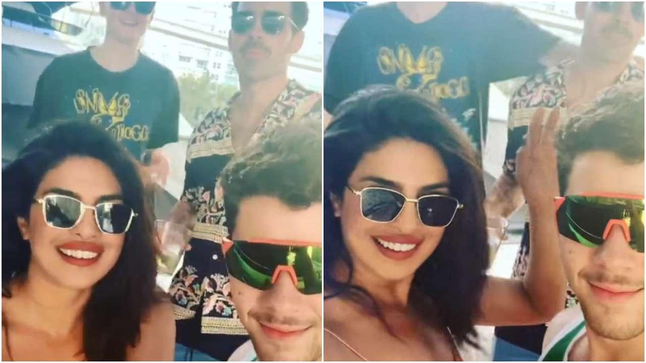 Priyanka Chopra Hangs Out With Nick Jonas at WORK!