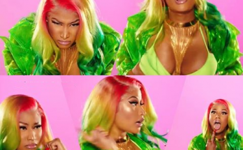Nicki Minaj Wears Designer Clothes and Plays With Puppets For BARBIE DOLLZ Video