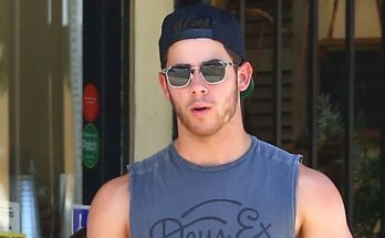 Nick Jonas Shows Off Biceps During Breakfast Outing