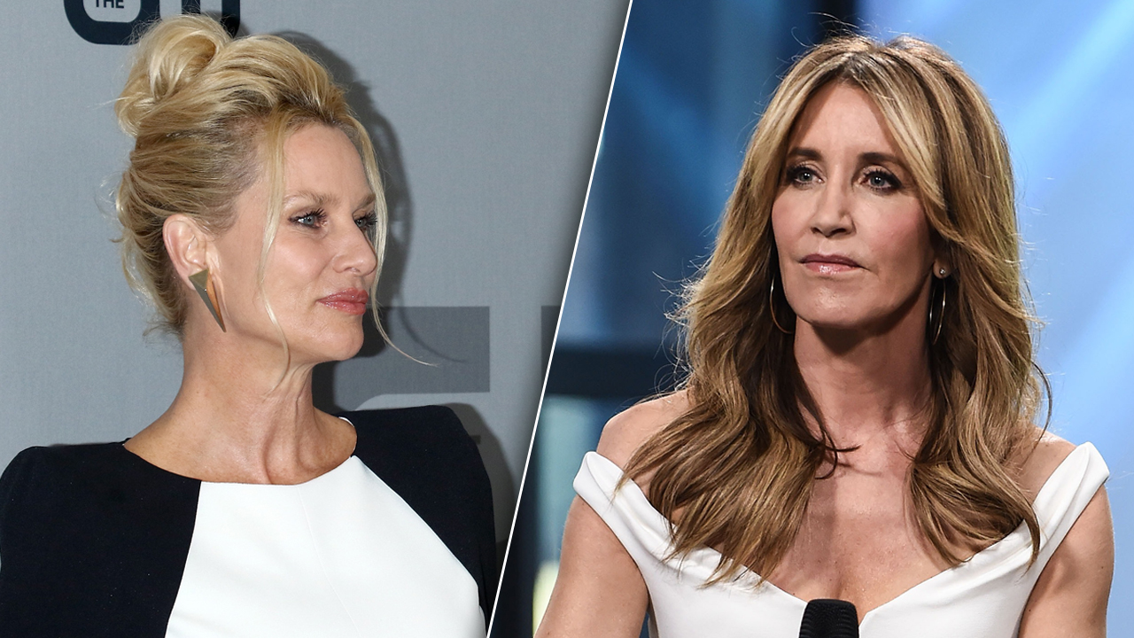 Nicollette Sheridan Says She's DISTURBED by Felicity Huffman's College Admissions Scam!