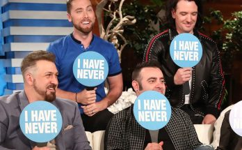 NSYNC Goes on Ellen, Plays 'Never Have I Ever'