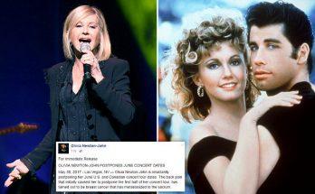 Olivia Newton John Has BREAST CANCER!