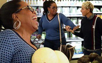 O, That's Good: ELLEN Takes Oprah Grocery Shopping