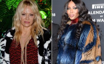 Pam Anderson Doesn't Like Naomi Campbell's COAT!