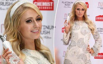 Paris Hilton Inspires During 'Platinum Rush' Launch in AUSTRALIA!