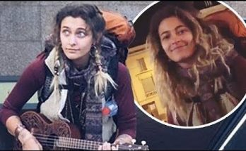 PARIS JACKSON Shows Off Eclectic Style & Plays the Ukulele in Paris!