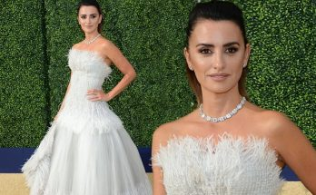 Penelope Cruz Looks Like a Dove at Emmys 2018 Red Carpet