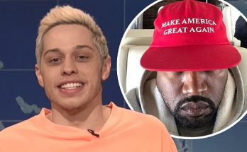 Pete Davidson BLASTS Kanye West on SNL
