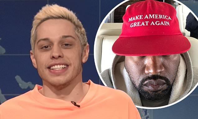 Pete Davidson BLASTS Kanye West on SNL