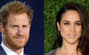 FIRST PHOTOS Of Prince Harry and Meghan Markle Leaving The Apollo Theatre in London!