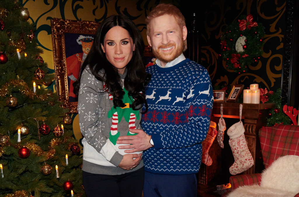 Madame Tussauds Releases CREEPY Wax Masks of Prince Harry and Meghan Markle!