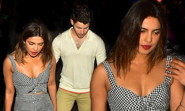 MONSOON SZN: Priyanka Chopra and Nick Jonas Enjoy Inappropriate Date in Mumbai!