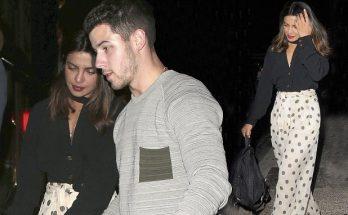 Priyanka Chopra Kicks Off Birthday Party With Nick Jonas
