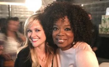 Reese Witherspoon Sends OPRAH A Birthday Message!
