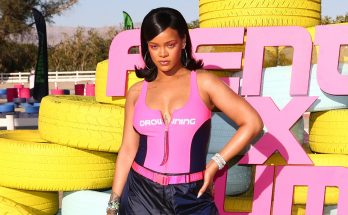 Rihanna Throws COLORFUL Coachella Party By the Pool!