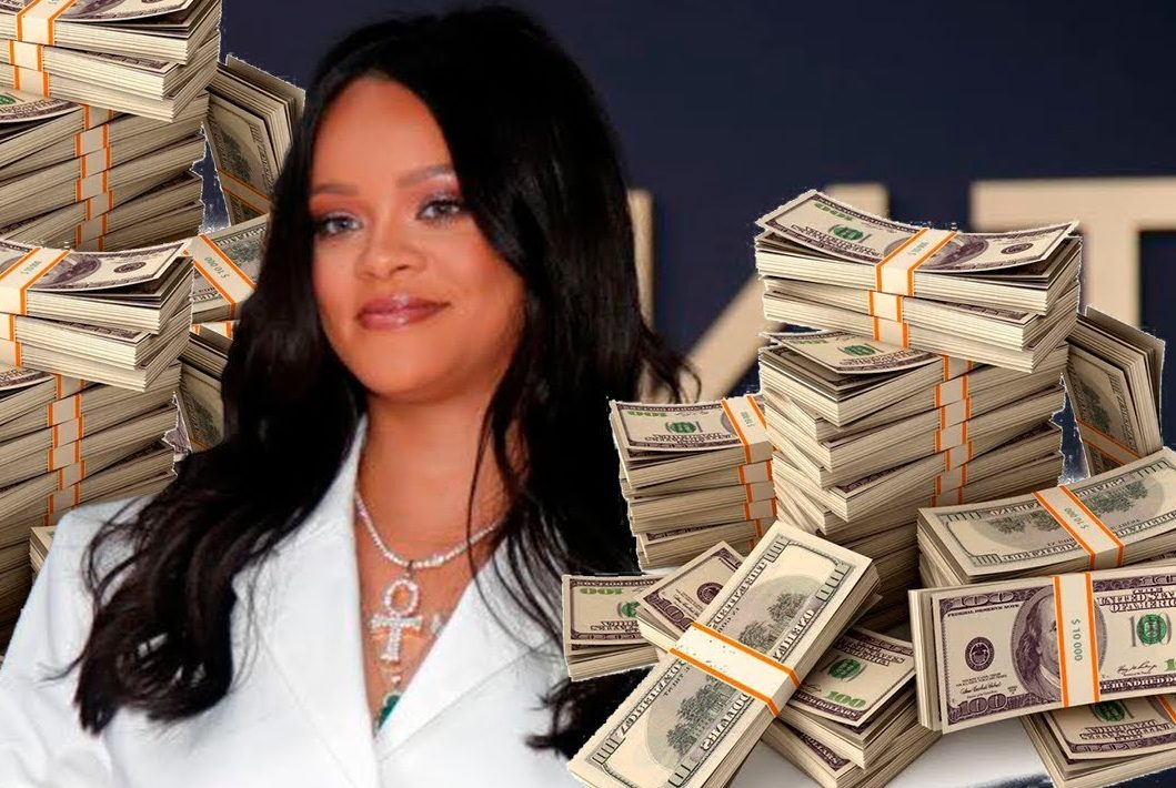 Rihanna Named the RICHEST Female Musician in the World!