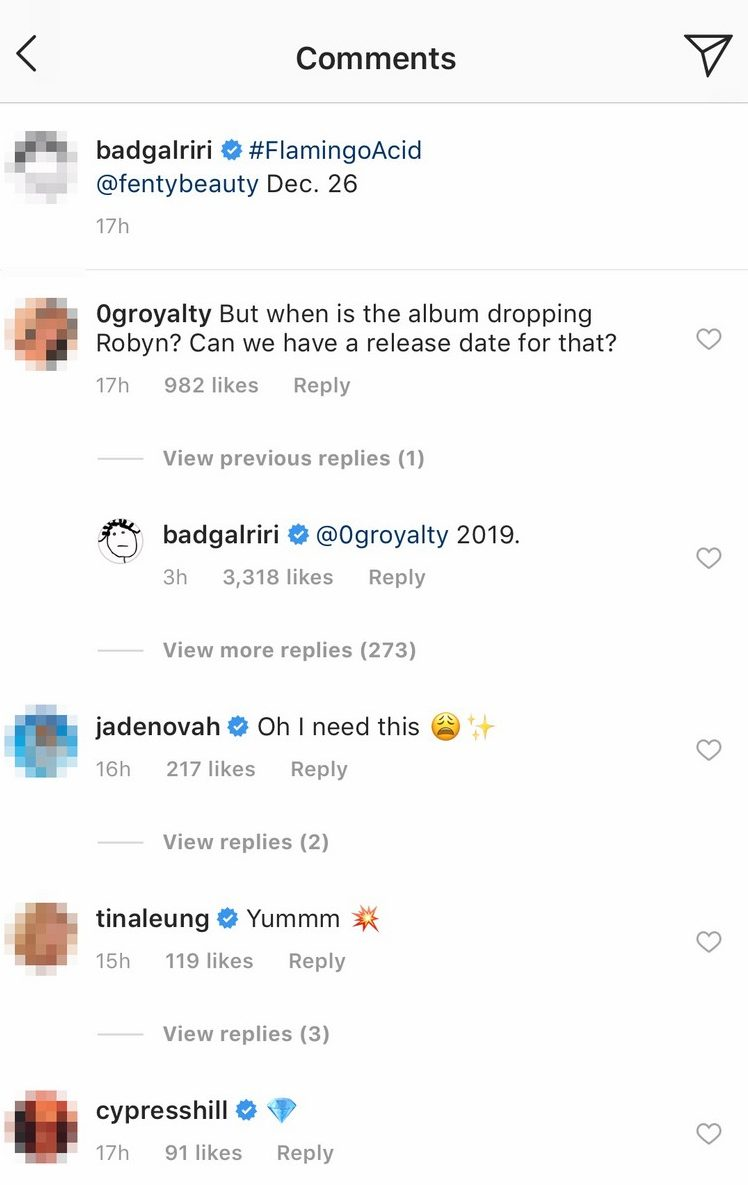 RIHANNA To Release NINTH Album in 2019!