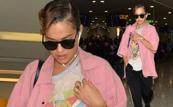 RITA ORA Is a Revealing Lady @ London Heathrow Airport (LHR)