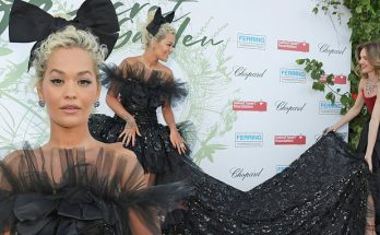 Rita Ora Attends NAKED Heart's THE SECRET GARDEN Gala in Switzerland!