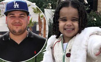 Rob Kardashian Shares RARE Photo of Daughter Dream Kardashian