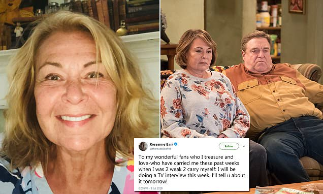 Roseanne Barr is Going to Interview HERSELF!
