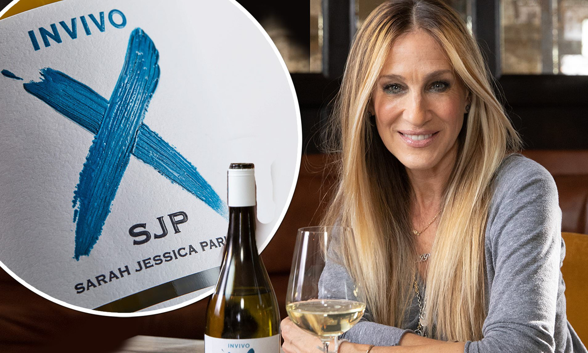 Sarah Jessica Parker Launches WINE COLLECTION!