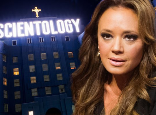 Leah Remini Claims Scientologists RUN AWAY From Her!