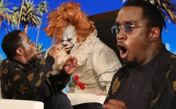 Sean DIDDY Combs Gets Freaked Out by Clowns on 'The Ellen DeGeneres Show'