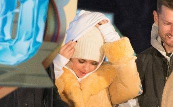 SELENA GOMEZ is Winter-Ready in London!