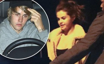 Selena Gomez Leaves Justin's Home Late in the Night, Spotted by Paparazzi!