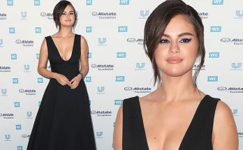 Selena Gomez Walks FIRST RED (BLUE) CARPET in 10 Months!