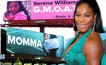 Serena Williams' Husband Puts Up Billboards All Over LOS ANGELES About Her!