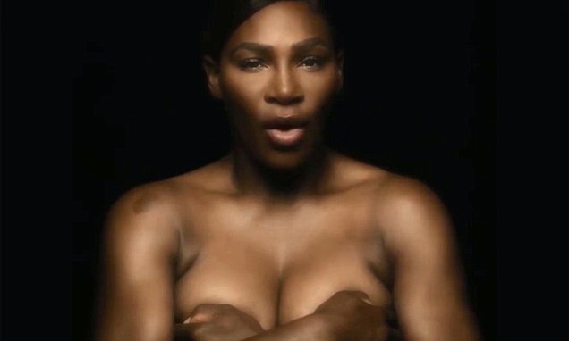 Serena Williams Goes Topless NUDE, Says She 'Touches Herself' For Charity image