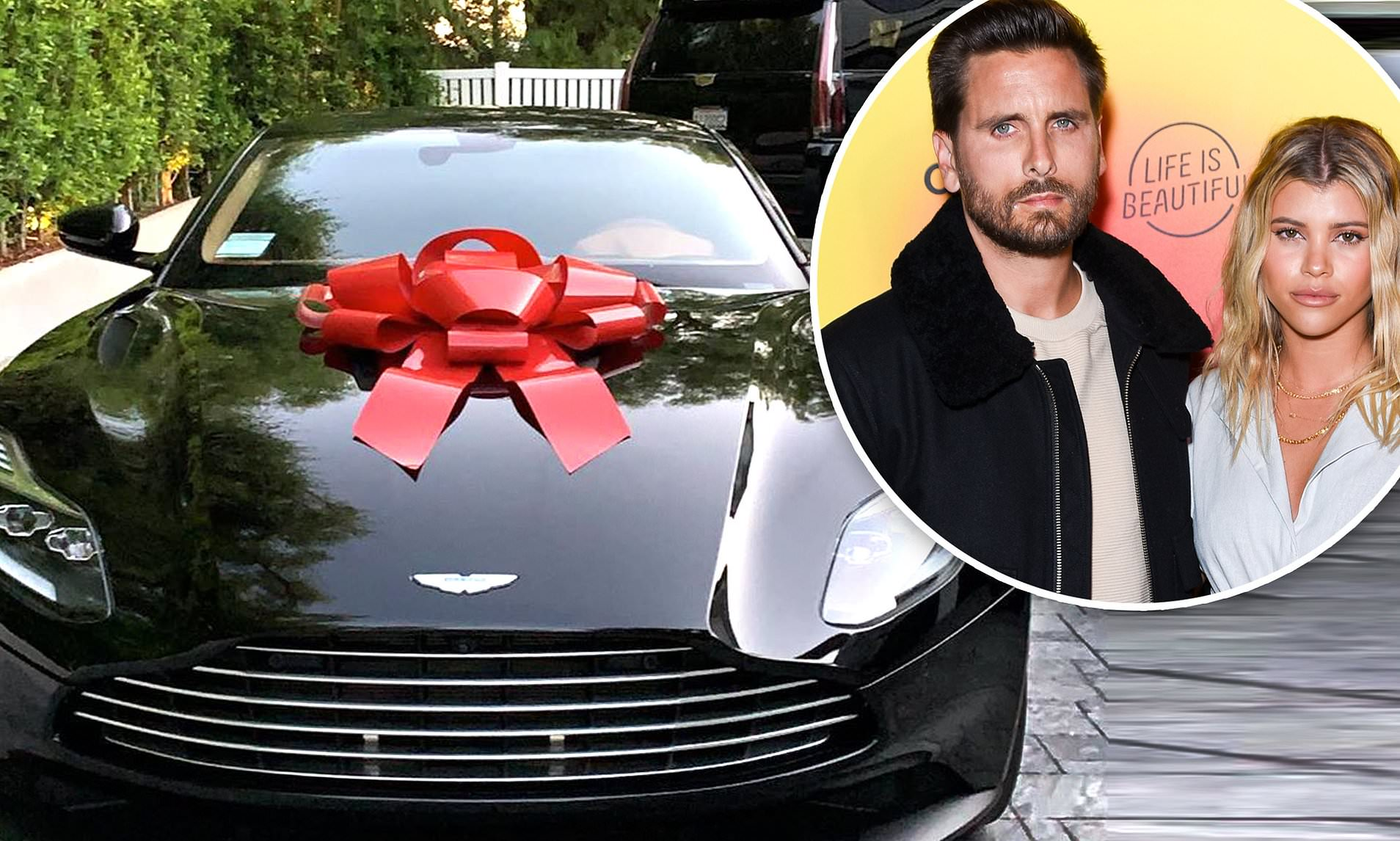 36-Year-Old Scott Disick Gave Sofia Richie an ASTON MARTIN For Her 21st Birthday!