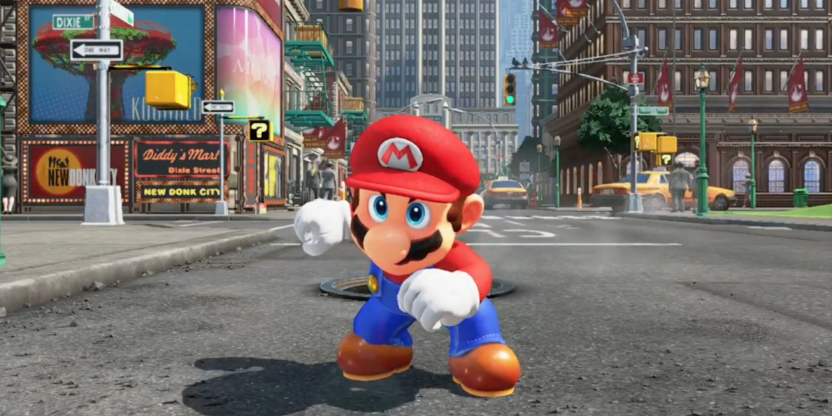SUPER MARIO ODYSSEY' is the New Super Mario World Game From Nintendo