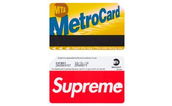 SUPREME NYC Metro Card Now Available on eBay