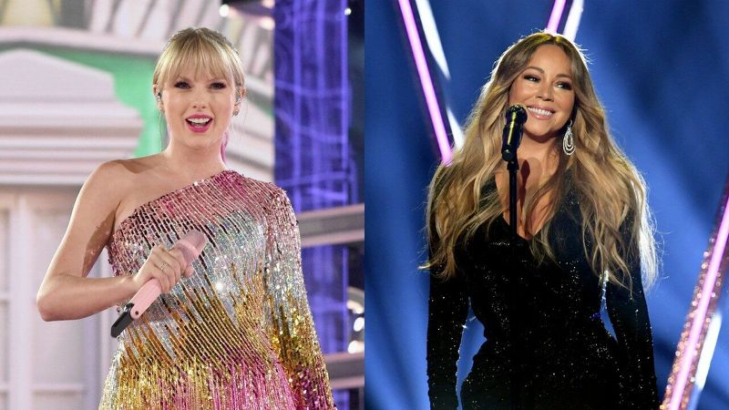 Taylor Swift is OBSESSED With Mariah Carey!