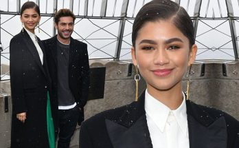 ZENDAYA and Zac Efron Light Up the Empire State Building!
